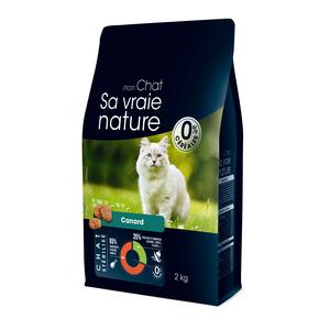 Croquettes pour chat stérilisé au canard - 2 kg