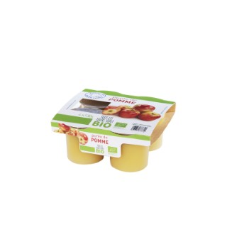 Purée de pomme Bio 4 x 130 g 335777