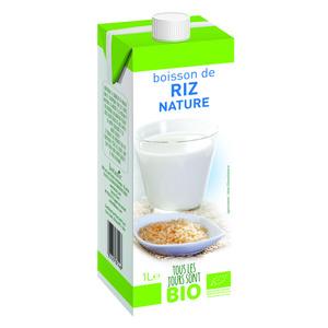 Boisson végétale de riz nature Bio 1 L
