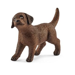 Figurine Chiot Labrador Retriever Série Animaux de la ferme 4,9x1,6x3,4 cm 341151