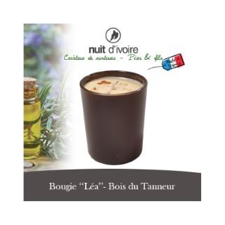Bougie parfumée Léa Bois du Tannneur
