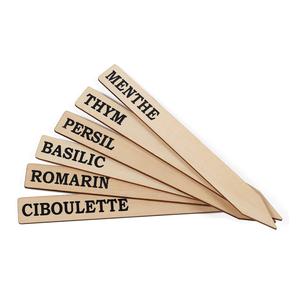 Étiquettes aromatiques en bois 341789