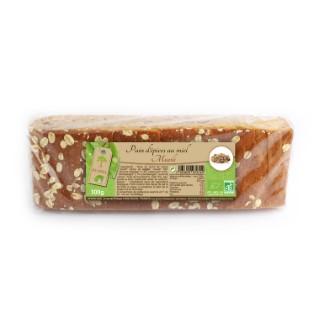 Pain d'épices bio au muesli en tranche de 300 g 341860