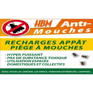 Recharge Appât pour Piège à Mouches 40 g 10,2x0,1x15 cm 342551