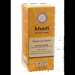 Teinture aux plantes bio blond doré en format de 100 g 342578