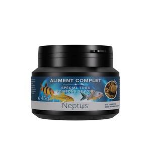 Aliment complet  pour tous poissons de fond - Boîte 100 ml 343012