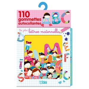 Les Jolies Lettres Maternelle Ma Boîte à Gommettes 3 ans Éditions Lito 343591