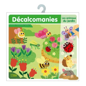 Les Animaux du Jardin Mes Premières Décalcomanies 4 à 6 ans Éditions Lito 343618