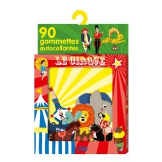 Le Cirque  Ma Boîte à Gommettes 3 ans Éditions Lito 343638