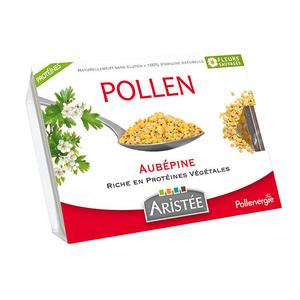 Pollen d'aubépine et de fleurs sauvages en barquette de 250 g 344403