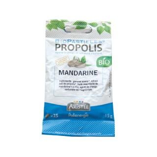 Biopastilles propolis et mandarine bio en 12 sachets de 25 unités 344417
