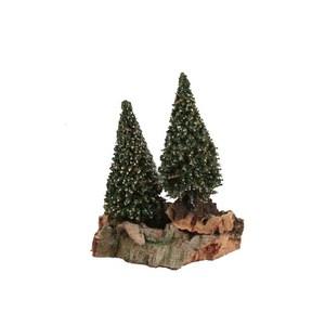 Montagne avec 2 pins 21 x 12 x 14 cm 348812