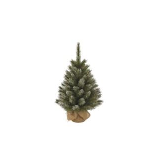 Arbre de Noël Toile de jute H 60 cm 348845