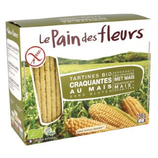 Tartines de maïs et riz bio en étui de 150 g 349338