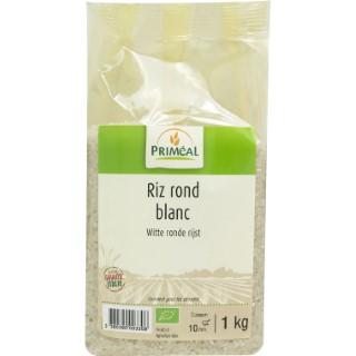 Riz rond blanc bio - 1 kg