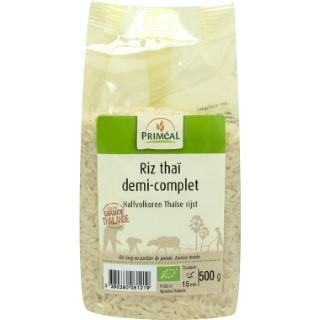 Riz thaï demi complet bio en sachet de 500 g 349390