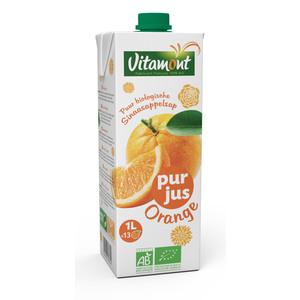 Pur jus d'oranges bio Vitamont 1 l