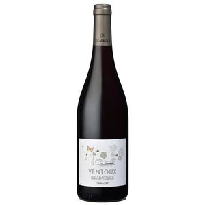 Vin rouge bio des côtes de Ventoux les 2 Bastides 75 cl 355106