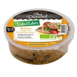 Taboulé de quinoa bio 180 g DANIVAL