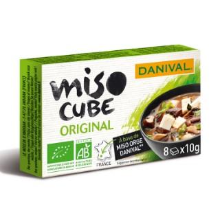 Miso cube original 8x10 g DANIVAL