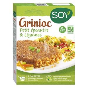 Grinioc de petit épeautre et légumes bio 200 g 355465