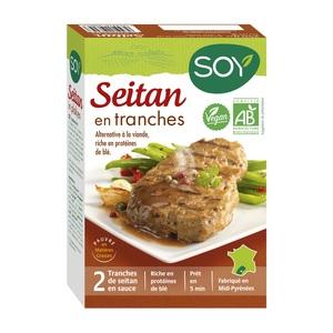 Seitan en tranches bio 250 g 355469