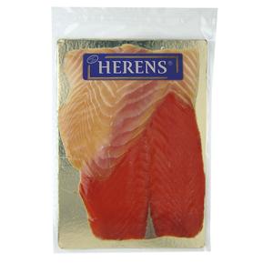 Assiette deux saumons HERENS