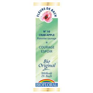 Élixir n°10 Biofloral de pommier sauvage en flacon de 20 ml 356127