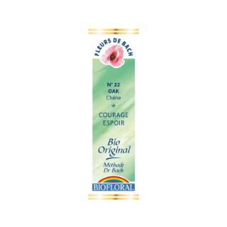 Élixir n°22 Biofloral de chêne en flacon de 20 ml 356139