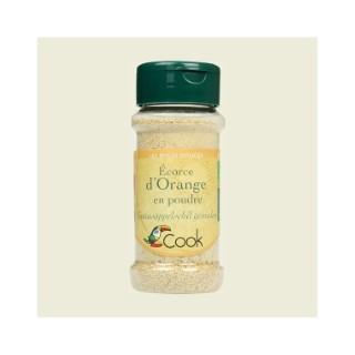 Écorce d'orange en poudre bio en pot de 32 g 356578