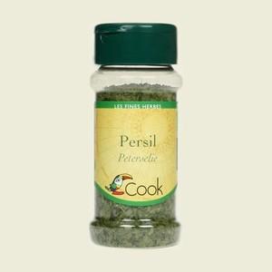 Feuilles de persil bio en pot de 10 g