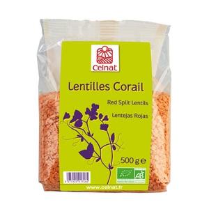 Lentilles corail CELNAT