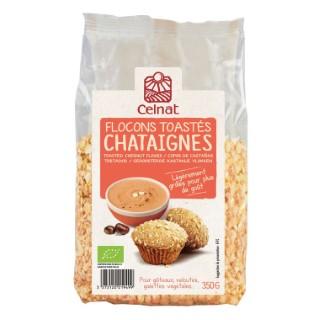 Flocons de châtaignes toastés 350g CELNAT