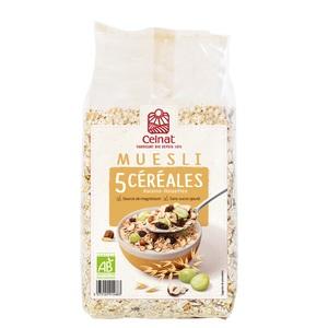 Muesli 5 céréales CELNAT 500 g