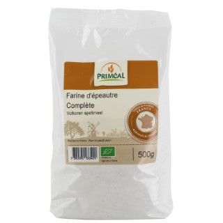 Farine epeautre complet 500 g PRIMEAL