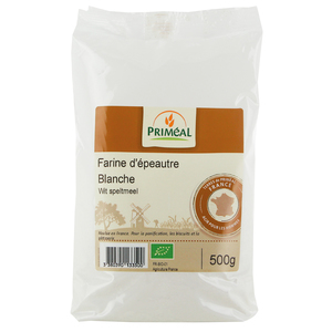Farine d'epeautre blanche 500 g PRIMEAL