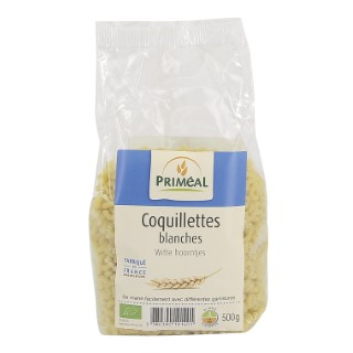 Coquillettes blanches 500 g PRIMEAL