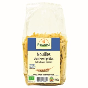 Nouilles demi completes 500 g PRIMEAL