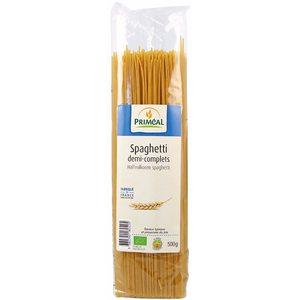 Spaghettis demi complets 500 g PRIMEAL 358520
