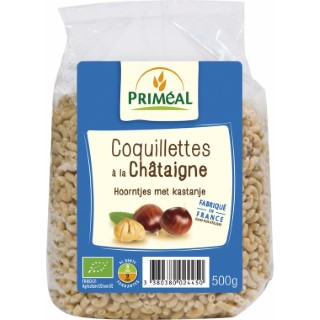 Coquillettes chataigne 500 g PRIMEAL