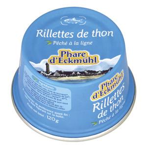 Rillettes de thon 125 g PHARE D'ECKMÜHL 358682