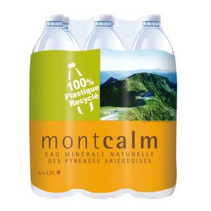 Bouteille d'eau Montcalm 1,5L (bouteille vendue à l'unité)