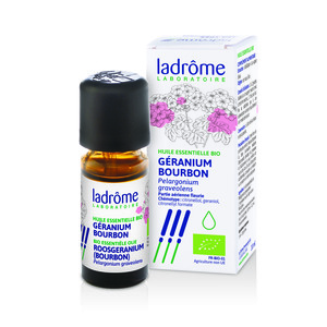 Huile essentielle bio de Géranium Ladrôme - 10 ml