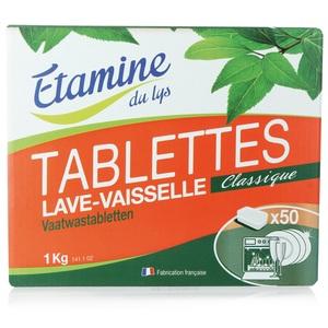 Tablettes lave vaisselle 1 kg ETAMINE DU LYS
