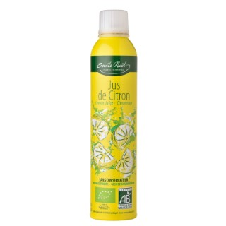 Jus de citron bio en flacon de 200 ml 360025