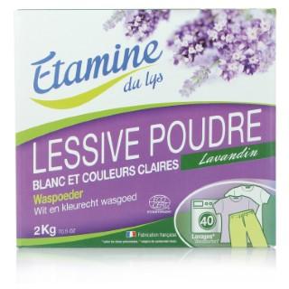 Lessive poudre compactive 2 kg ETAMINE DU LYS