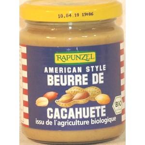 Beurre de cacahuète 250 g RAPUNZEL