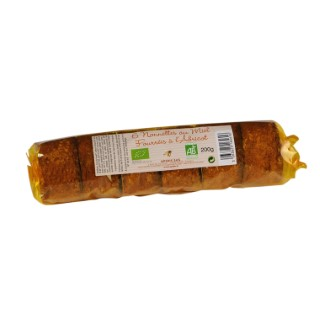 Nonnettes aux abricots bio Apidis 200gr 36367