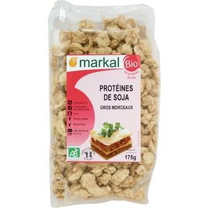 Protéines de soja bio en gros morceaux - 175 gr 364190