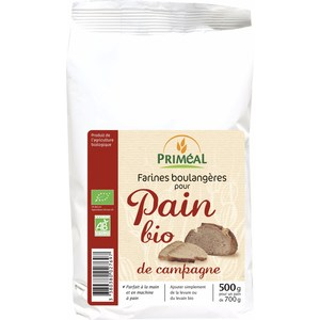 Farine pain bio campagne 500 g PRIMEAL